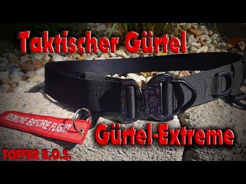 Taktischer Gürtel- BLACK COBRA LIMITED EDITION/Gürtel Extreme/ HD/ 2016