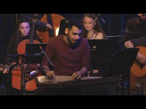 "Firas Zreik - Kanun Solo Over ""Silk Tears"" Live At Berklee"