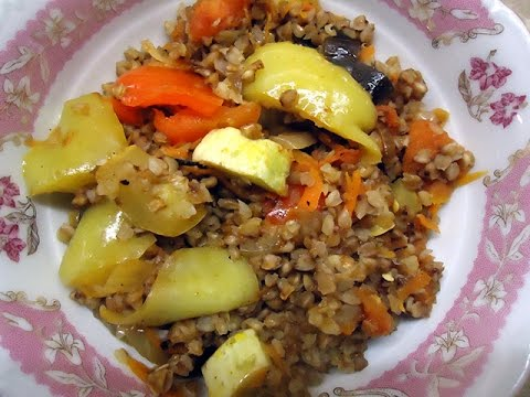 Гречка с овощами калорийность на 100 грамм