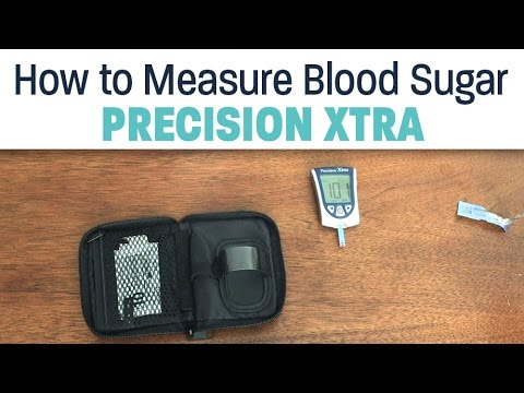 How to Measure Blood Sugar with Precision Xtra Glucose & Ketone Monitoring System
