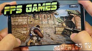 Top 10 Best First Person Shooter FPS Games for Android/iOS in 2018 || High Graphics Games