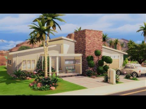 Sunrise Vista || The Sims 4 Grandma House - Speed Build