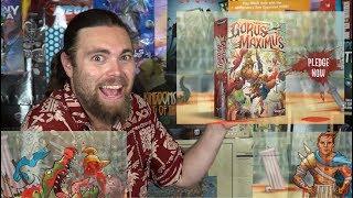 Gorus Maximus - Kickstarter - Card Game Review