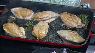 مي شو في رمضان | طريقة عمل شوربة دجاج بالمشروم والبصل المكرمل والكريمة