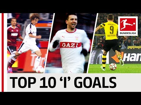 "Top 10 Goals - Players With ""I"" - Immobile, Ibisevic & More"