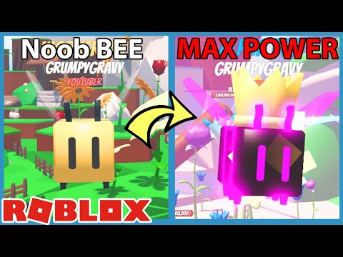I Unlocked Max Evolution Alpha Bee in Roblox Bee Simulator |