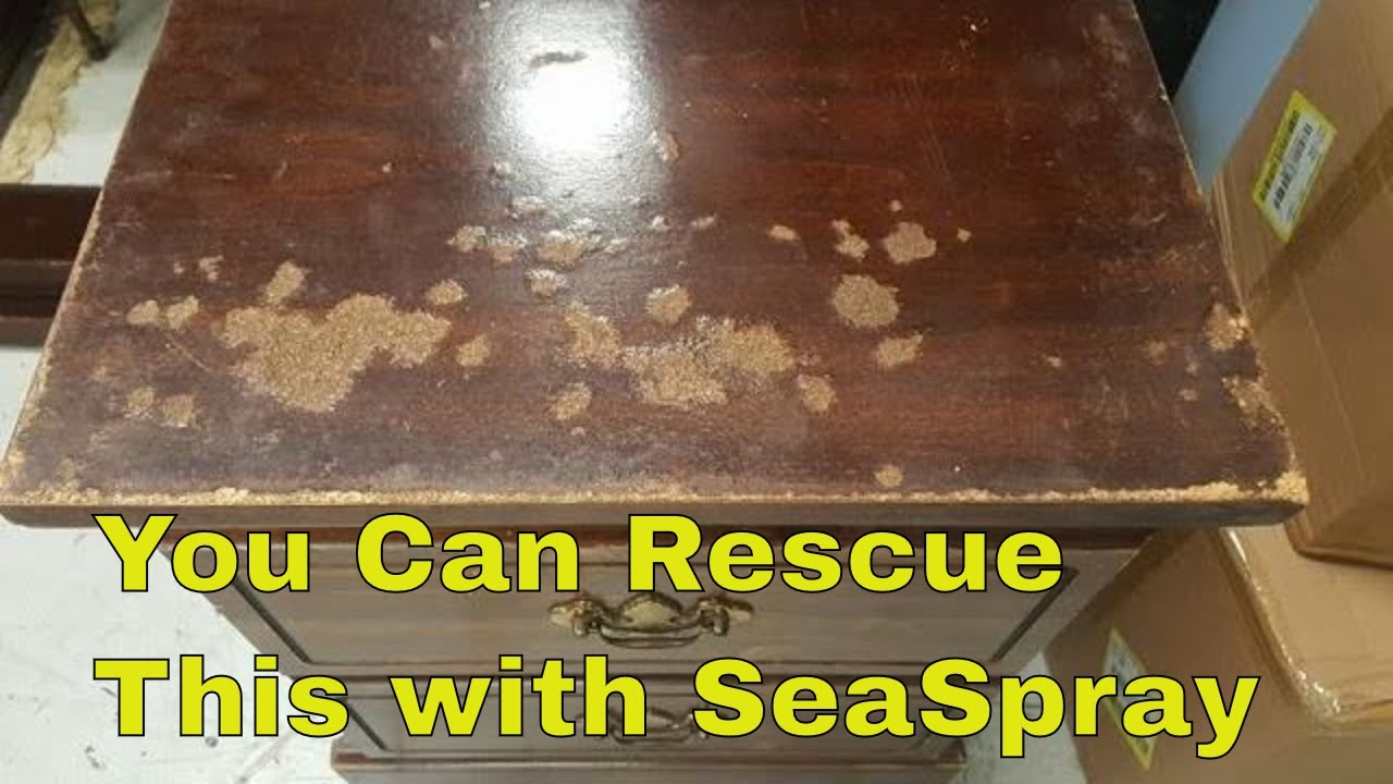 How To Repair Water Damaged Particle Board Furniture