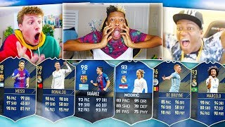 TOP 10 BEST TOTY PACKS EVER!  FIFA 11 - FIFA 19