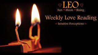 LEO - AUGUST 12-18 2018 LOVE TAROT READING