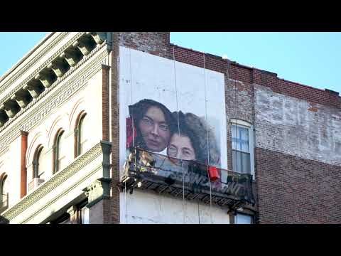 Generations of Warmth - SoHo Billboard