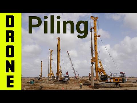 Precast Piling Operation