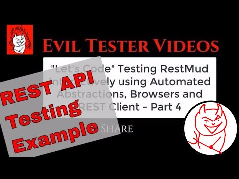 """""""Let's Code"""" Testing RestMud - Java, JUnit, Automation Abstractions, Exploratory Testing - Part4"""