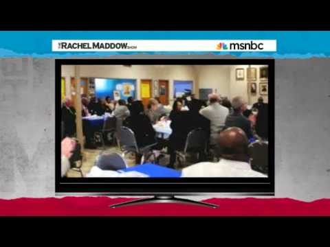 Rachel Maddow Immigration law new civil rights test of Alabama