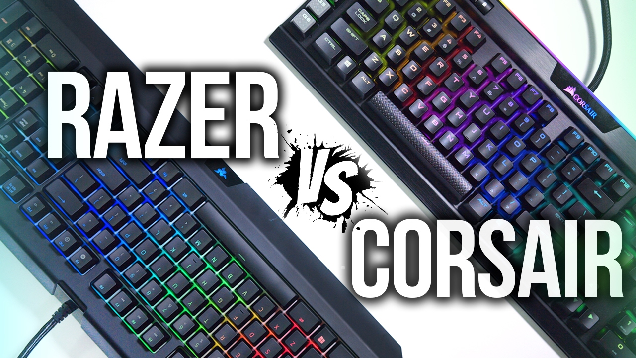 Razer Blackwidow Chroma V2 vs Corsair Gaming K95 Platinum