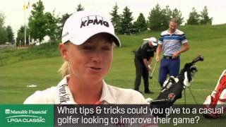 Interview with Stacy Lewis at the Manulife Financial LPGA Classic p.1