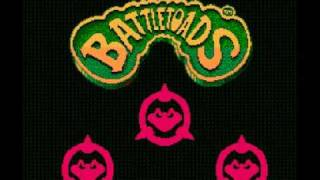 Battletoads NES Music Turbo Tunnel Part 2