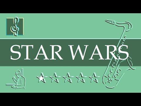 Tenor Sax Notes Tutorial - Star Wars - Main Title (Sheet music)