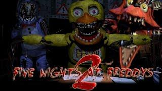 STAY STILL!! Five Nights At Freddy's 2  [Night 3]