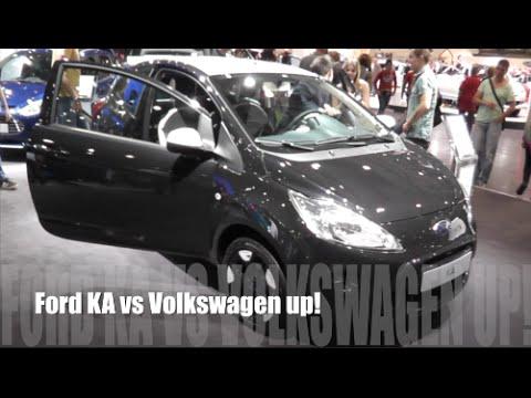 Ford Ka  Vs Volkswagen Up