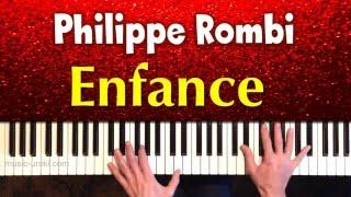 Philippe Rombi  - Enfance. Музыка из фильма  «Новая подружка». Piano cover + ноты
