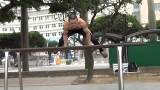 KENGURU PRO 街頭健身世界盃 2016 年申請參賽台灣高雄站:參賽選手張謙信