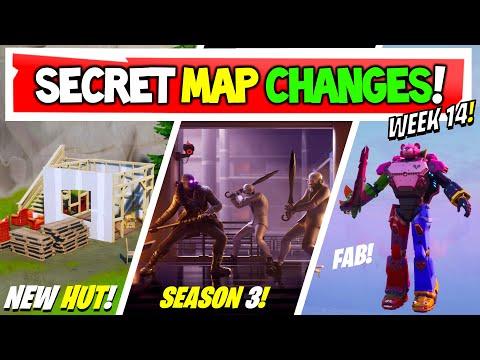 Fortnite | All Secret Map Changes V12.60 & Easter Eggs!
