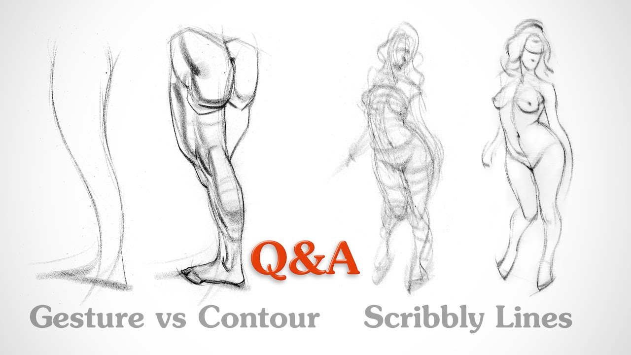 Q A Gesture Vs Contour And Scribbly Lines Proko