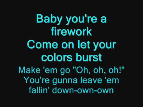Katy Perry - Fire work song lyrics
