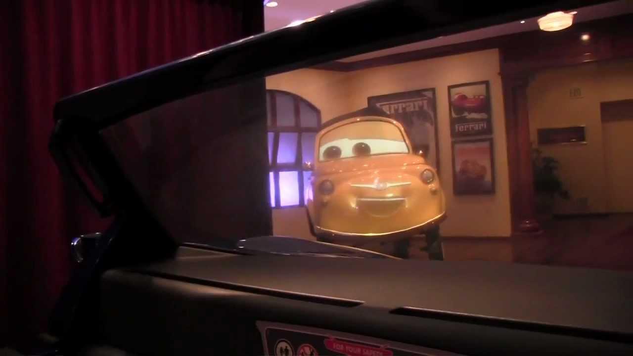 Cars  In Disneyland