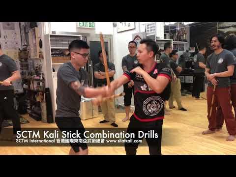 SCTM Kali Stick Combination Drills