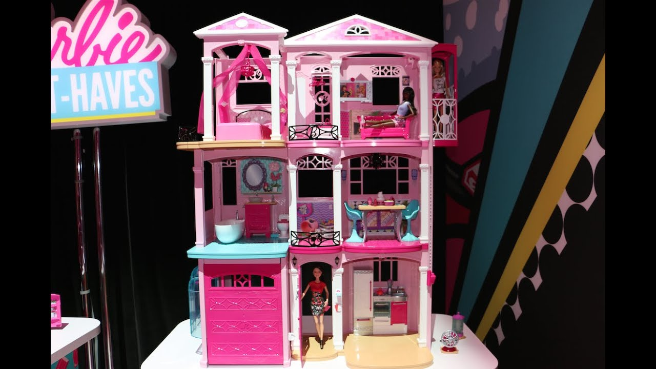 Barbie Dreamhouse 2015 Youtube