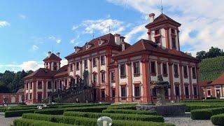 Extended: troja palace, prague, czech republic / zámek troja, praha, Česko pałac trojski