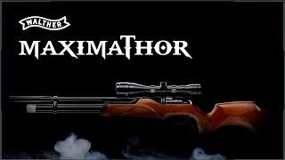 Video: Umarex Walther Maximathor PCP ilmakivääri 5,5mm