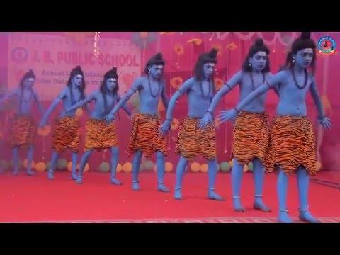 Taandav Dance - J. B. PUBLIC SCHOOL