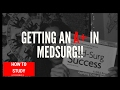 Studying for MedSurg in Nursing School  + Resources| Kaydeen Marie