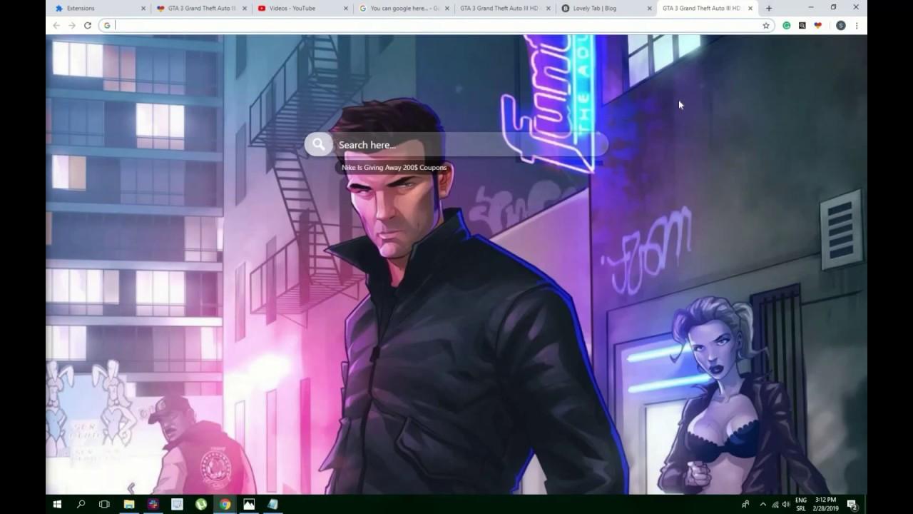Cool Gta 3 Grand Theft Auto Iii Hd Wallpaper Theme For Chrome