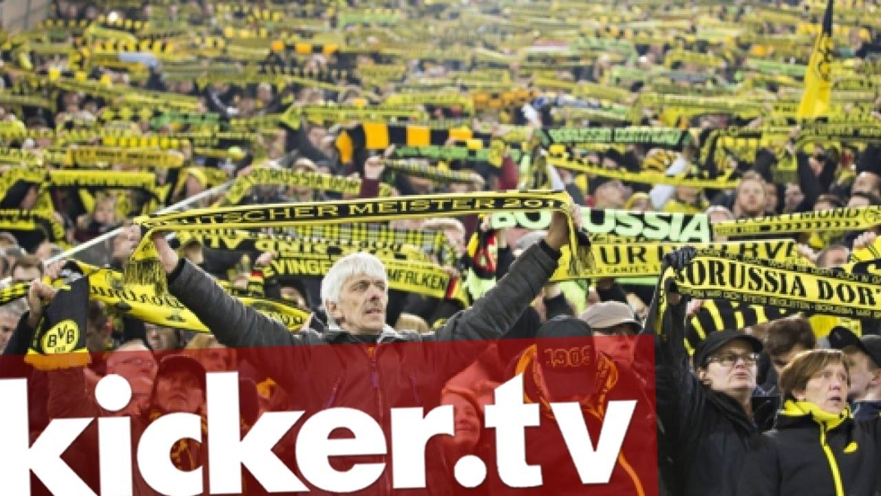 """""""Ergreifend"""": BVB-Fans über die Stille in Dortmund - kicker.tv"""
