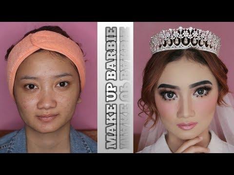 tutorial-make-up-barbie-(pengantin/wedding)-asean-drugstore-make-up-murah
