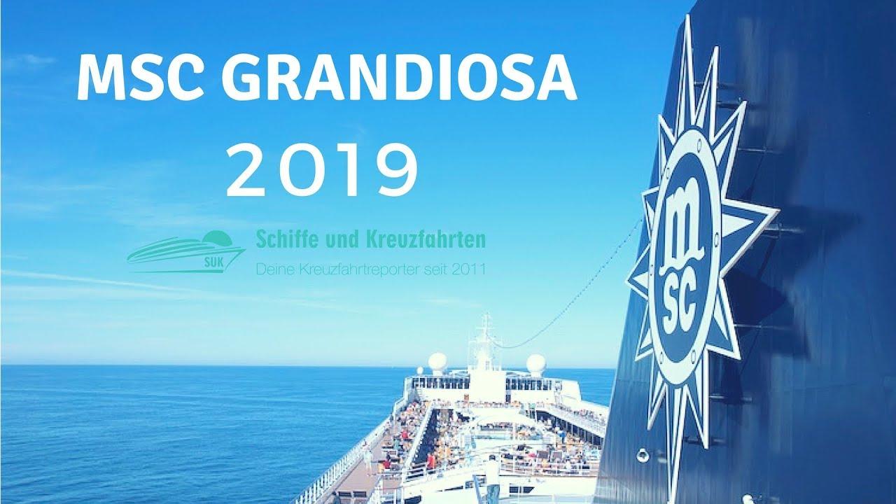 MSC Grandiosa: Infos zum Neubau 2019 Infos, Buchungsstart ...