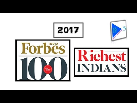 Top 100 richest Indians Forbes list 2017