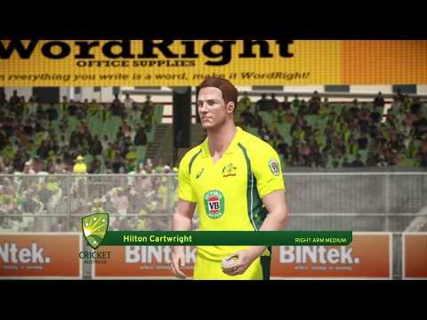INDIA VS AUSTRALIA AUSTRALIA 2ND ONE DAY INTERNATIONAL ||DON BRADMAN CRICKET 17