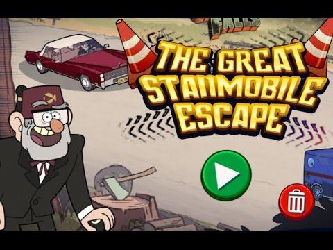 Gravity Falls The Great Stanmobile Escape (Гравити Фолс)