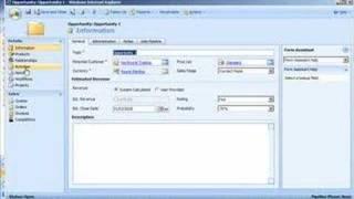 Microsoft Dynamics CRM 4.0 Sales Demonstration