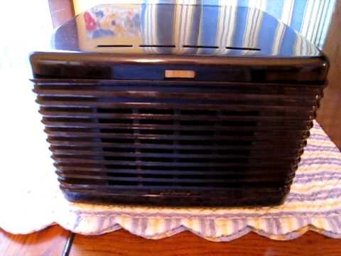 Repeat DECCA Model #P-903 45 RPM Portable Record Player/RCA