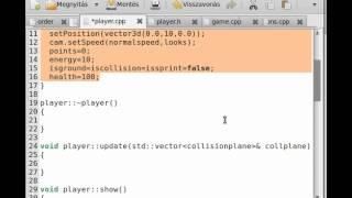 لعبة FPS (OpenGL,SDL,C++) البرنامج التعليمي 6 - إنشاء لاعب من الدرجة