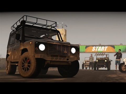 Forza Horizon 2 Storm Island DLC Off Road Championship (with Wheel Cam)