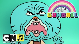 La vida es una sonrisa | Canciones de Gumball | Cartoon Network