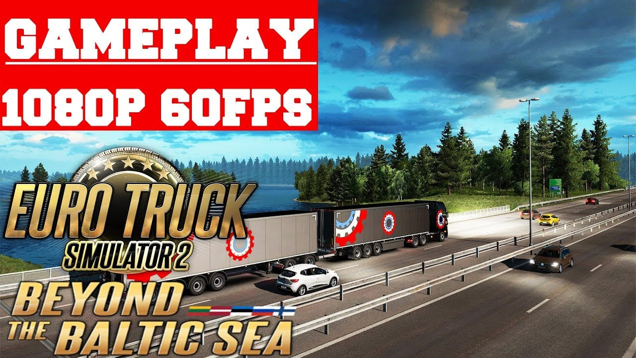 Euro Truck Simulator 2 Beyond the Baltic Sea-CODEX - NPGAMES