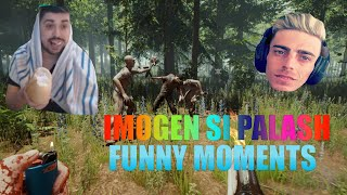 IMOGEN SI PALASH FUNNY MOMENTS#1 - LIVE THE FOREST