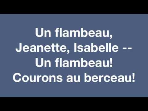 Un Flambeau Jeanette Isabelle